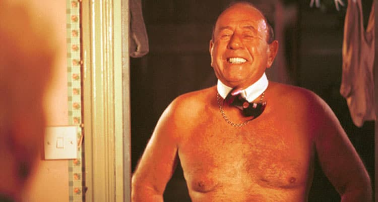 Frank Butcher in a dickie bow