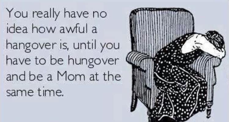 Hangover | Prosecco Mum