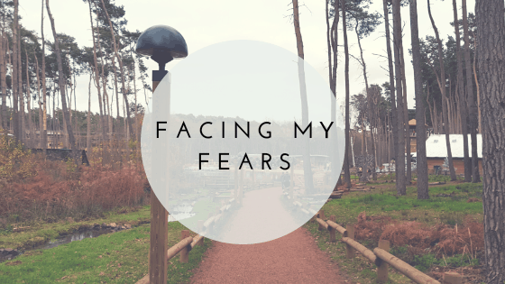 Facing my fear.