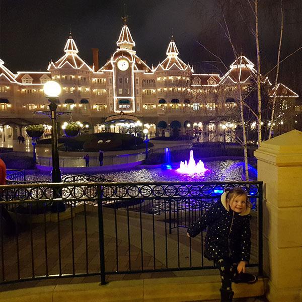 Disneyland Paris Night