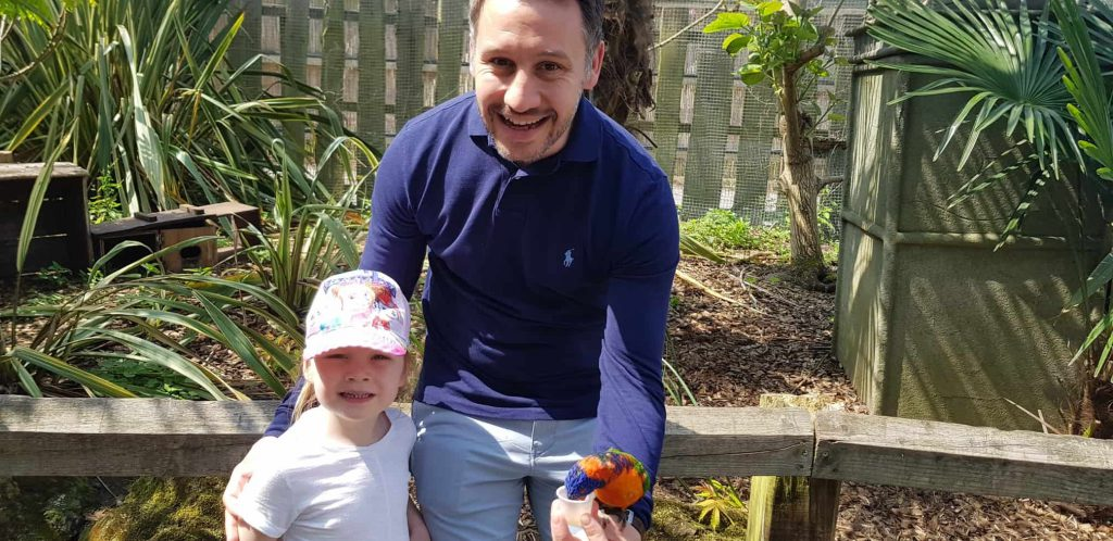 Chessington - Lorikeets