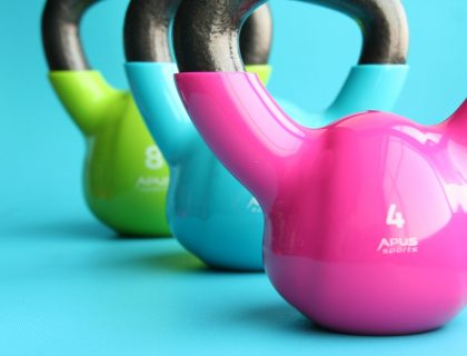 keeping fit - weights