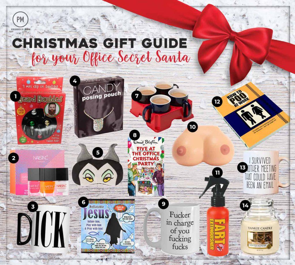 Christmas Gift Guide | Gift ideas for the office Secret Santa ...