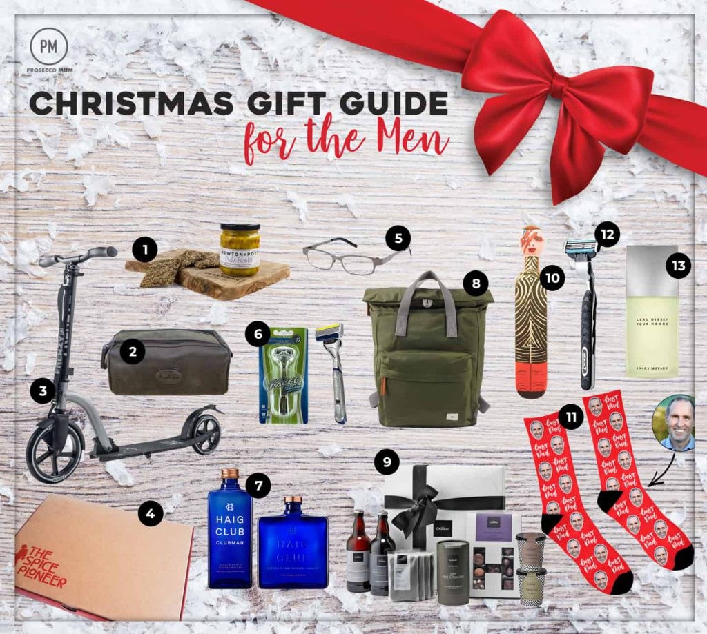 Christmas Gift Guide For Him | Gift ideas for the men in your life ...