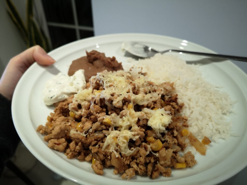 chilli and rice - slimming world