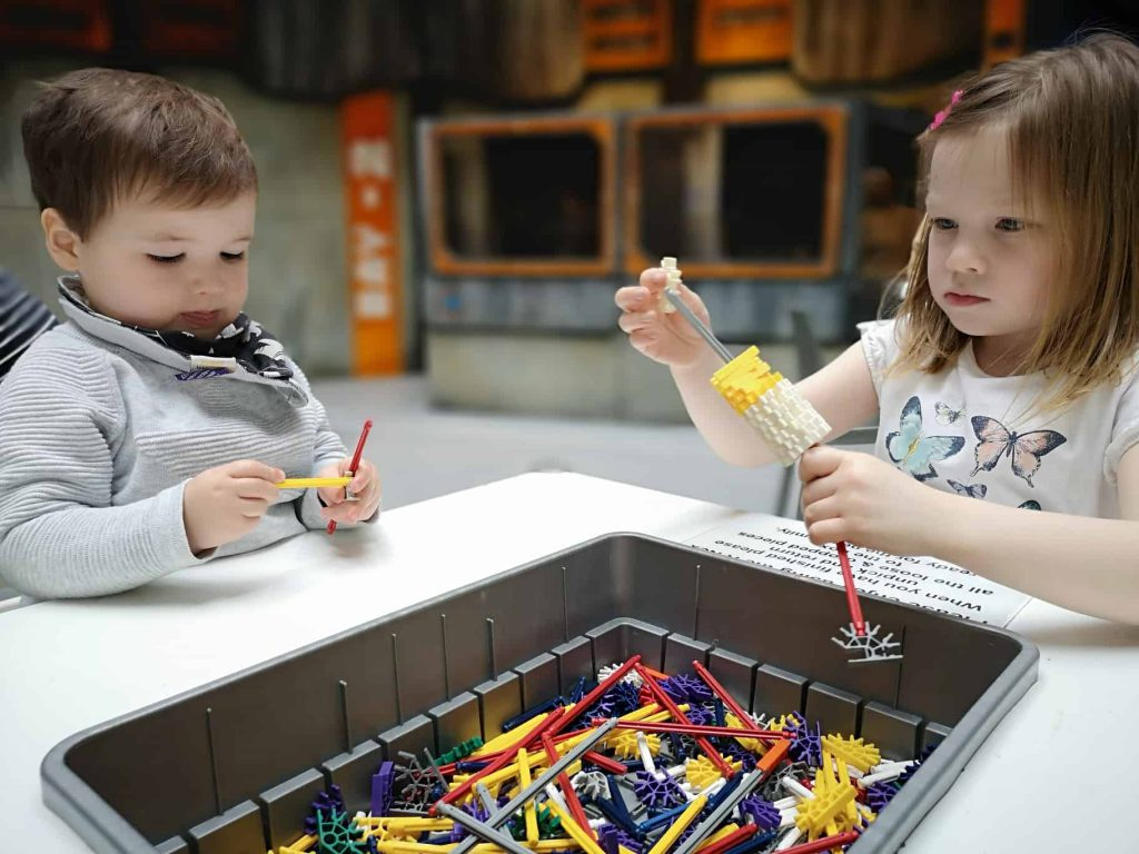 Winchester Science Centre - KNex