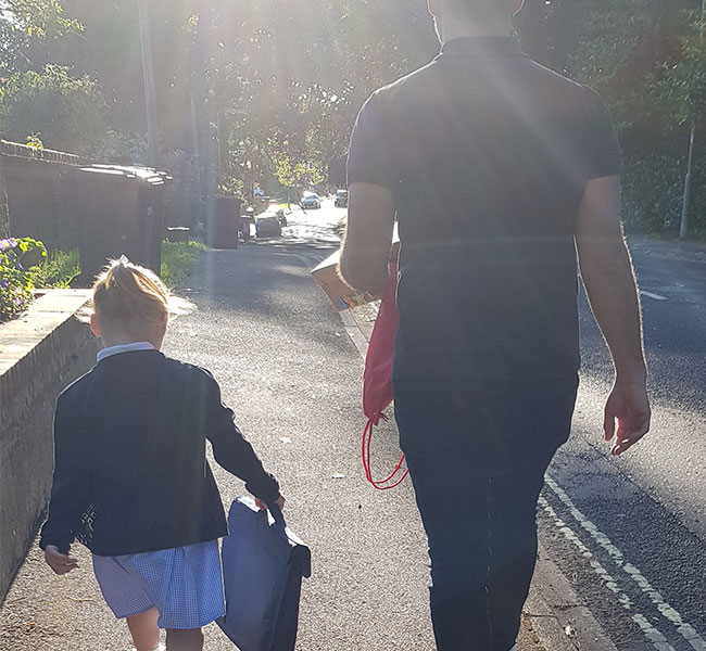 First year as a school mum