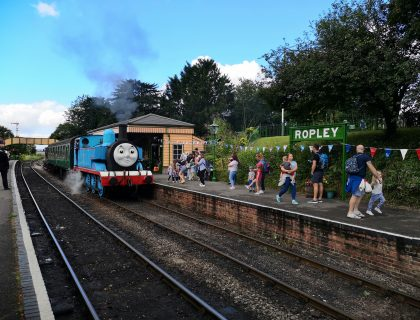 A Day out with Thomas - Watercress Line