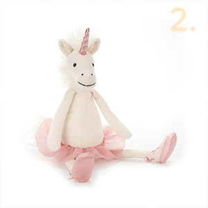 unicorn cuddly toy