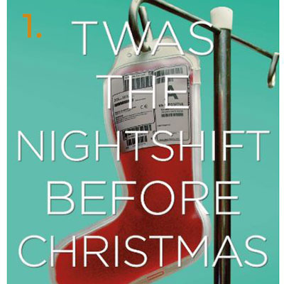twas the nightshift before christmas book cover