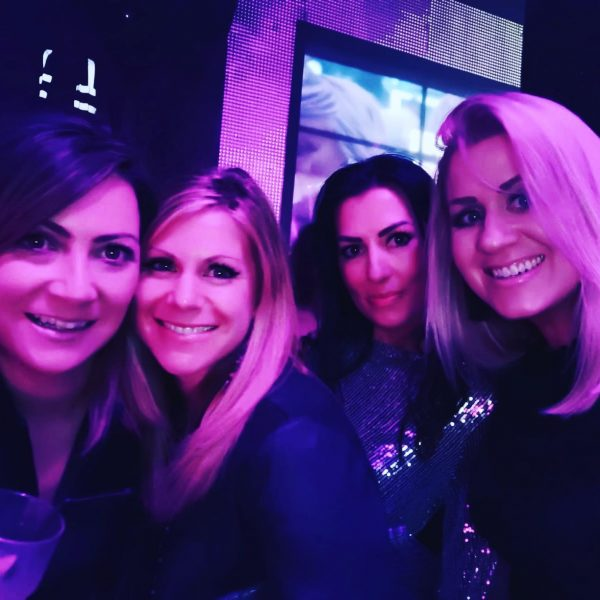 four ladies on night out