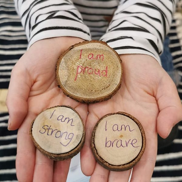 proud strong brave