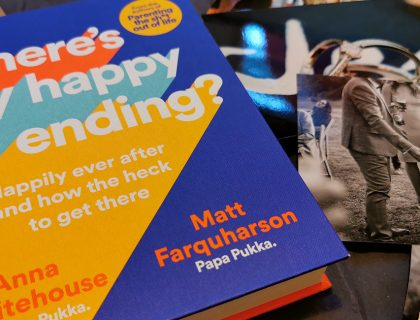 what i've been reading - where's my happy ending book