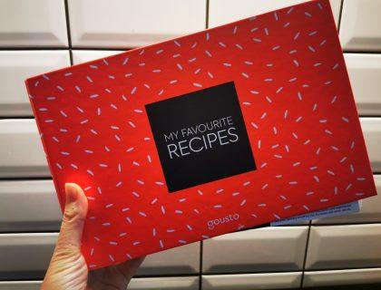 gousto my favourite recipe books