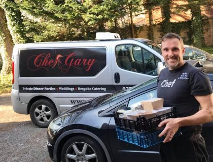 chef gary food delivery