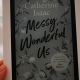 book cover on kindle